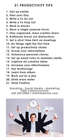 My productivity can get low. This is a great way to stop feeling sluggish and un-inspired