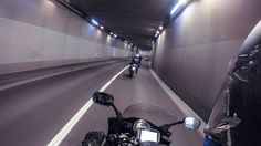 Tunnel action  #tunnel #italy #gopro #motorbike #motorcycle