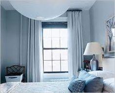 slaapkamer ideeen inrichting ijsblauw