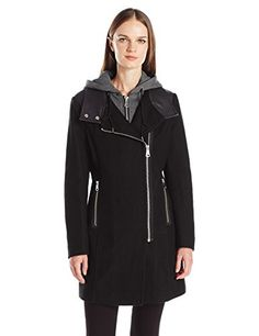 Marc New York by Andrew Marc Women's Phoenix, Black, 14 * To view further for this item, visit the image link.