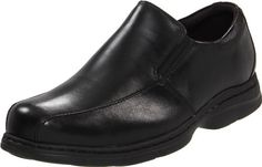 Dunham Men's Blair Twin Gore Slip On Black Smooth Loafer 10.5 B (N) *** Click affiliate link Amazon.com on image for more details.