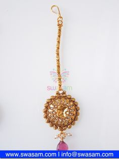 Indian Jewelry Store | Swasam.com: Tikka with Perls and White Stones - Tikka - Jewelry Shop to Buy The Best Indian Jewelry  http://www.swasam.com/jewelry/tikka/tikka-with-perls-and-white-stones-1575.html?___SID=U  #indianjewelry #indian #jewelry #tikka