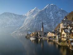 """Hallstatt, Austria - """"Morning in Hallstatt"""" by jeffbfoto"""