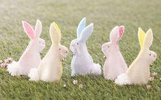 How to Make Felt Rabbit Finger Puppets #Easter
