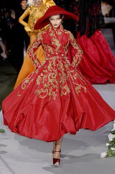 Corte vintage - Christian Dior Fall 2007