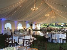 Skylinks Outdoor Wedding Reception