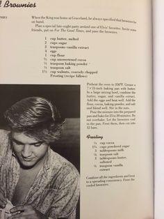 Retro Recipes, Old Recipes, Vintage Recipes, Cookbook Recipes, Brownie Recipes, Sweet Recipes, Baking Recipes, Cake Recipes, Dessert Recipes