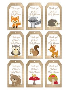 Woodland Friends Forest Animals Theme Baby by TheLovelyMemories