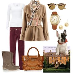 English Country House, created by patricia-teixeira on Polyvore