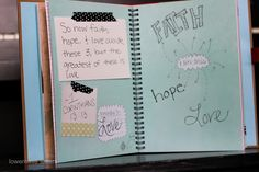 scripture scrapbook (instead of silly rhymes) for children