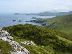 Ruins of an old fort on Great Blasket