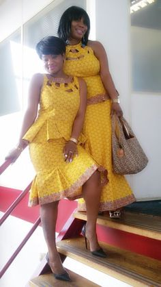 click to view - Ankara skirt and blouse for Events
