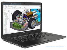 Pracovné stanice HP ZBOOK 15u so špičkovým výkonom v elegantnom a štýlovom designe.