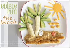 edible fun: the beach {mama♥miss}