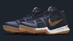 more photos 23b78 8ec15 Nike Kyrie 3, Usa La, Metallic Gold, Basketball Shoes, Shoe Game,