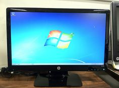 2311x LED Widescreen Monitor by HP