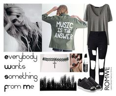 """291->""Everybody Wants Something From Me"" by The Pretty Reckless"" by dimibra ❤ liked on Polyvore featuring adidas Originals"