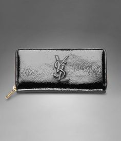 wallet on Pinterest | Anya Hindmarch, Wallets and Black Patent Leather