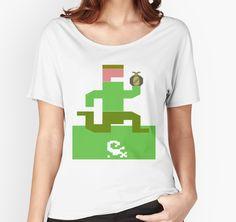Treasure!!! pitfall, pitfall t shirt, pitfall tshirt, pitfall tee, pitfall shirt, atari, atari t shirt, atari tshirt, atari tee, atari shirt, activision, classic video game, classic, vintage video game, videogame, videogames, geek, geek t shirt, geek tshirt, geek tee, geek shirt, nerd, nerd t shirt, nerd tshirt, nerd tee, nerd shirt