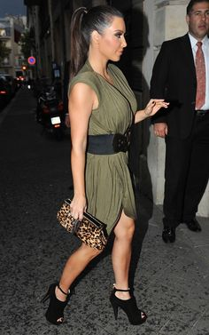 Kim Kardashian... I love your style!!! {Renara.Karol}
