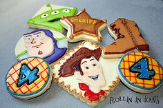 Rollin' in Dough: What a Character...in Cookie Form