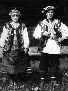 Ukrainian hutsuls