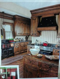 A This Old House remodel  aka our dream kitchen.