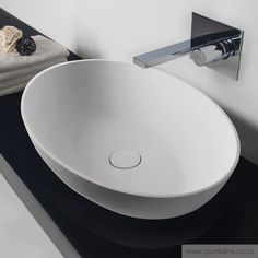 Progetto Super-Thin Oval Vessel Basin CODE ST3893 $799