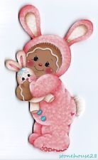 HP GINGERBREAD Pink Bunny (Easter) FRIDGE MAGNET