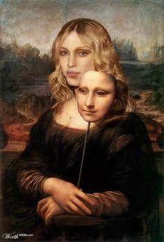 Mona Lisa Madonna by Mandrak