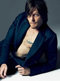Norman Reedus in GQ