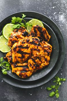 Grilled Chili Lime Chicken is made with tender and juicy grilled chicken with the best chili lime marinade!  This is ...