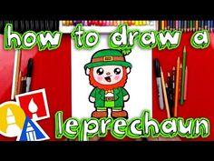 How To Draw A Cartoon Leprechaun - Art For Kids Hub -