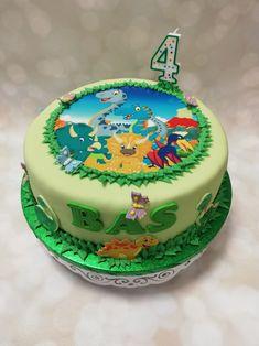 Dinosaur Birthday Cakes, Desserts, Food, Tailgate Desserts, Deserts, Eten, Postres, Dessert, Meals