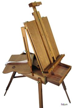 I have this exact one.  It's a bit wobbly from use, as I got it second hand.  Makes me feel like a real artist!