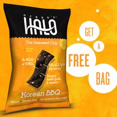 Did you know we're giving away free bags of seaweed chips? It's true! Get yours here: http://oceanshalo.com/shop/