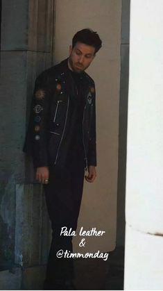 Boys Leather Jacket, Leather Men, Black Leather, Leather Jackets, Moto Jacket, Cute Guys, Male Models, Fashion Photography, Handsome