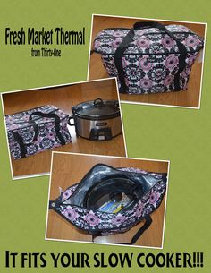 Fresh Market Thermal! love that this is versatile!  It holds my large crock pot / slow cooker!!!  A 9x13 pan also fits inside the bottom of this thermal