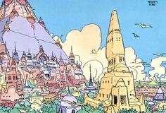 La maison de Noran - Moebius