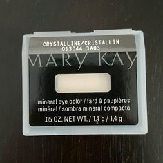 Mary Kay eye color Mary Kay mineral eye color in cristallin Makeup Eyeshadow