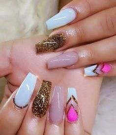 Cute && Creative  . . . For More Nails Pictures  ➡️Hair,Nails,And Style  ➡️Hair,Nails,And Style ✨ ➡️Hair,Nails,And Style ✨