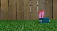 In dit filmpje zie je hoe je zelf makkelijk een konijntje kunt maken.