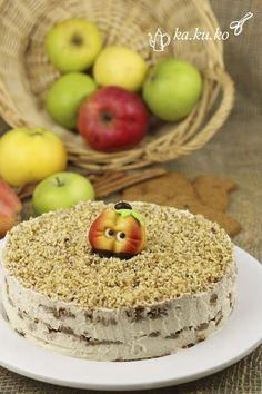 Apfel-Spekulatius-Torte