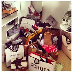 Regular shopping sprees for me and my family! Starting on my 21st birthday month! ♥ #Jan2015 #June2015 #Dec2015 and so on.. :)