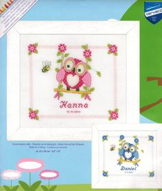 Baby Birth Announcements - Cross Stitch Patterns & Kits (Page 2)