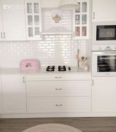 Kitchen, Pink, Kitchen accessory, American kitchen, White kitchen - New Design Unique Home Accessories, Kitchen Accessories, American Kitchen, Home And Deco, Home Decor Styles, Home Decor Bedroom, Home Accents, Living Room Designs, Home Goods