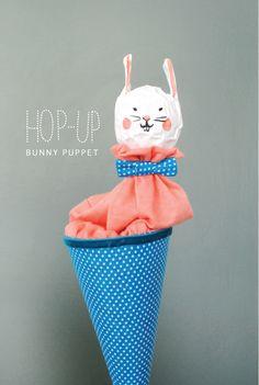 DIY pop up puppet