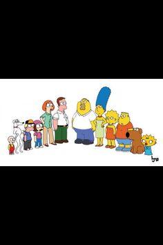 Family guy as Simpsons.Simpsons as family guy. The Simpsons, Simpsons Episodes, Simpsons Funny, Simpsons Characters, Family Man, Funny Family, Happy Family, Htf Anime, Funny Memes