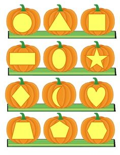 PUMPKINS Theme Math and Literacy Centers Printables and Activities for Preschool Fun Worksheets For Kids, Activities For Girls, Halloween Activities, Autumn Activities, Preschool Arts And Crafts, Preschool Learning Activities, Fall Crafts For Kids, Toddler Crafts, Kindergarten Themes