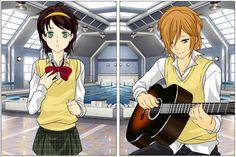 High School Romance, Romantic, Anime, Cartoon Movies, Romance Movies, Anime Music, Romantic Things, Animation, Romance